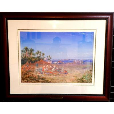 Orientalise Landscape Paul Pascal 1894