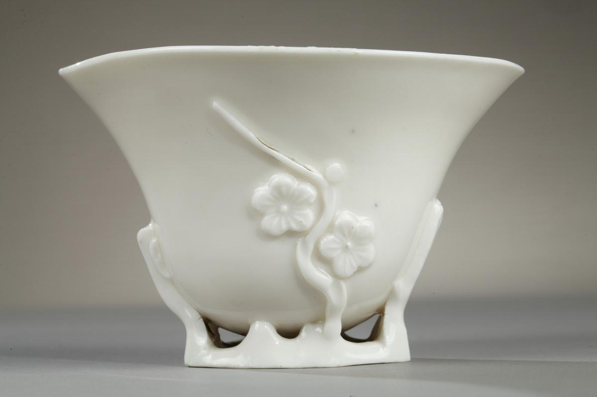 Coupe à Libation, Chine, Période Kangxi (1662 - 1722)