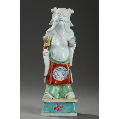 Chine : Figurine En Porcelaine, Circa 1820