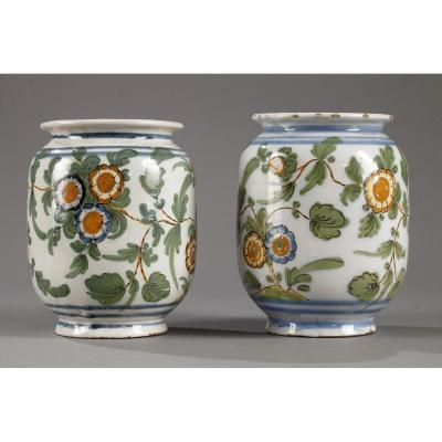 Bassano (italy): Pair Of Late 18th Century Pillboxes