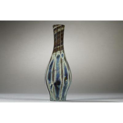 Vase En Lythialine, Bohème Première partie du 19ème siècle