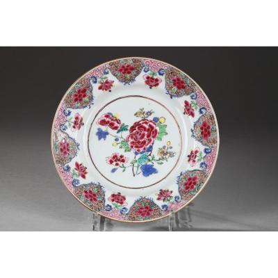Assiette Porcelaine De Chine 18ème Siècle