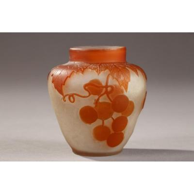Vase Gallé Période Art Nouveau