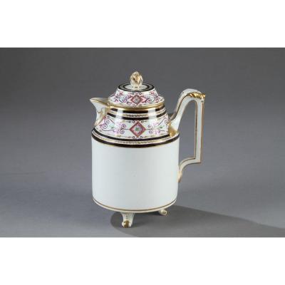Pot à Lait En Porcelaine De Vienne Début Du 19ème Siècle