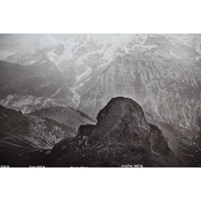 Switzerland: Panorama Of Schilthorn