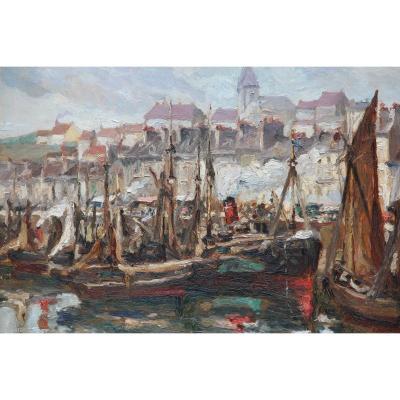 BOULOGNE-SUR-MER par LAZARE LEVY (1867-1933)