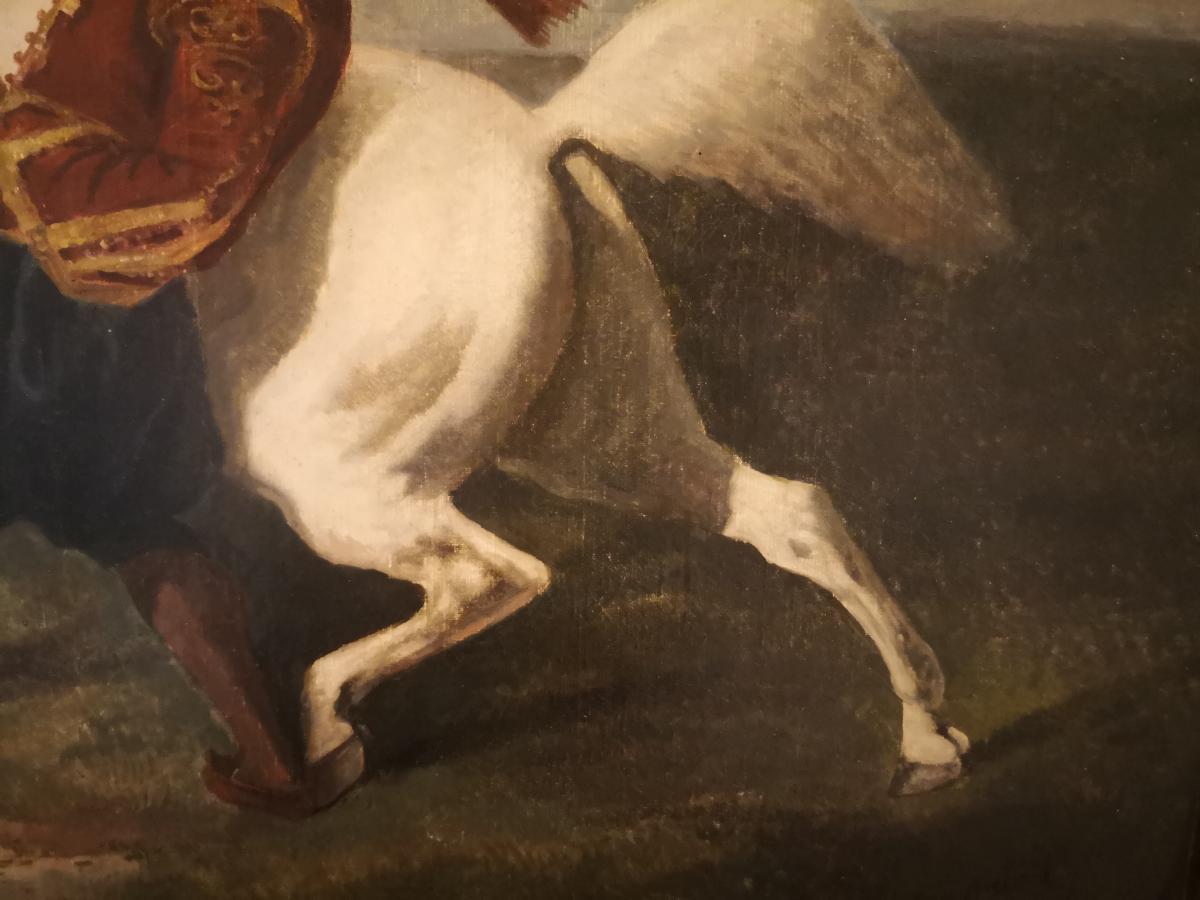 Tableau Cavalier Turque