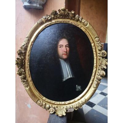 Grand Portrait 18 Eme Cadre D Epoque