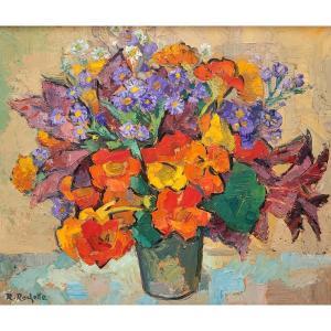 Raymond Rochette (1906-1993) - Bouquet De Fleurs