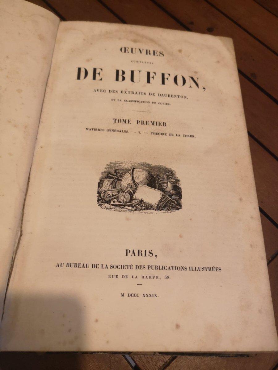 Oeuvres Complètes De Buffon- Imprimé par H. Fournier et Cie - 1840.-photo-3