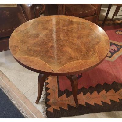 Pedestal Table - Art Deco - Around 1940