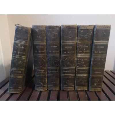 Complete Works Of Buffon- Edition H. Fournier Et Cie- 1840.