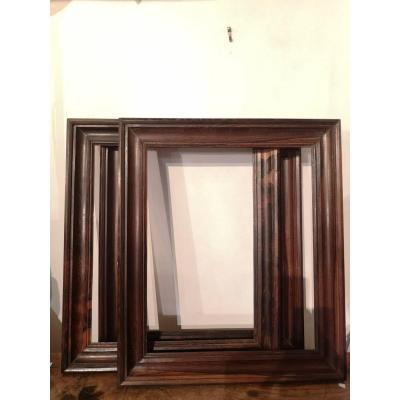 Suite Of Three Frames- Rosewood- End XIX E S.
