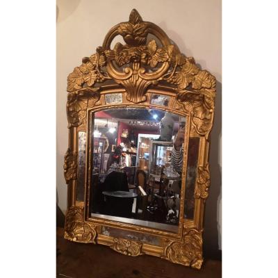 Mirror With Parecloses - Régence- Provence- XVIIIth C.