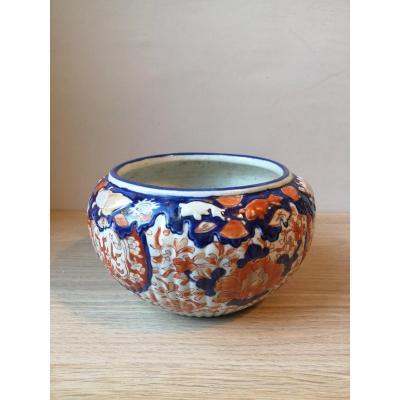 Cache-pot- Porcelaine Imari - Japon- Fin XIX E S.