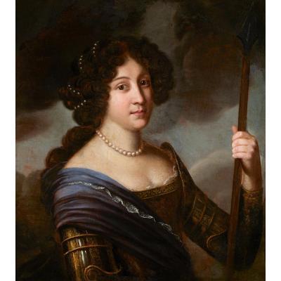 Portrait d'Hortense Mancini - Atelier De Jacob Ferdinand Voet
