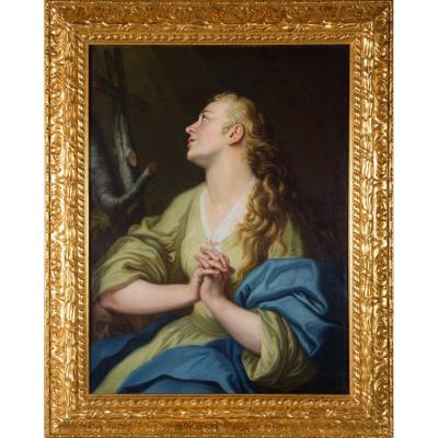 Suiveur De Pompeo Batoni - Marie Madeleine Repentante