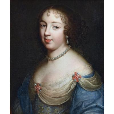 Charles And Henri Beaubrun - Portrait Of Marie Louise Pot Of Rhodes, Duchess Of Vitry