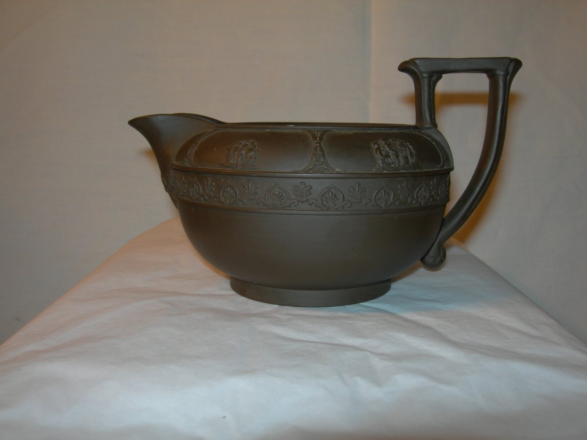 Verseuse Ou Pot à Lait Sarreguemines Vers 1820