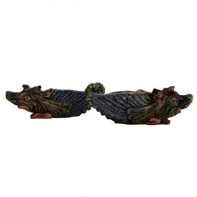 Thomas V. Sergent, Pair Of Chimera Planters, End Of The 19th Century