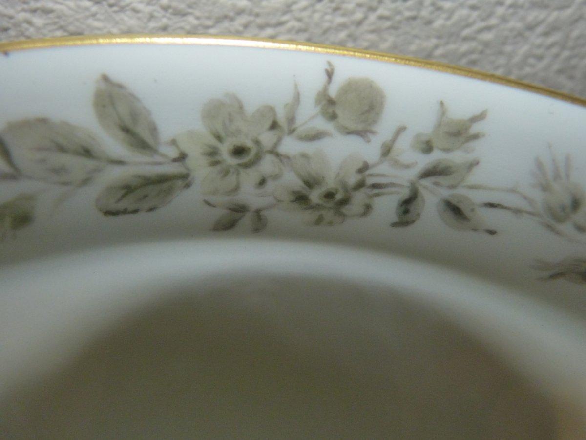 Coupe En Porcelaine De  Sèvres Montée Bronze Doré Napoléon III-photo-8