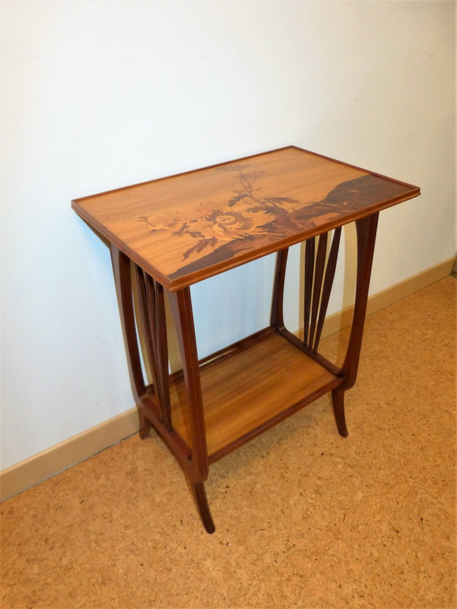 Louis Majorelle, Table Desserte Art Nouveau Japonisante