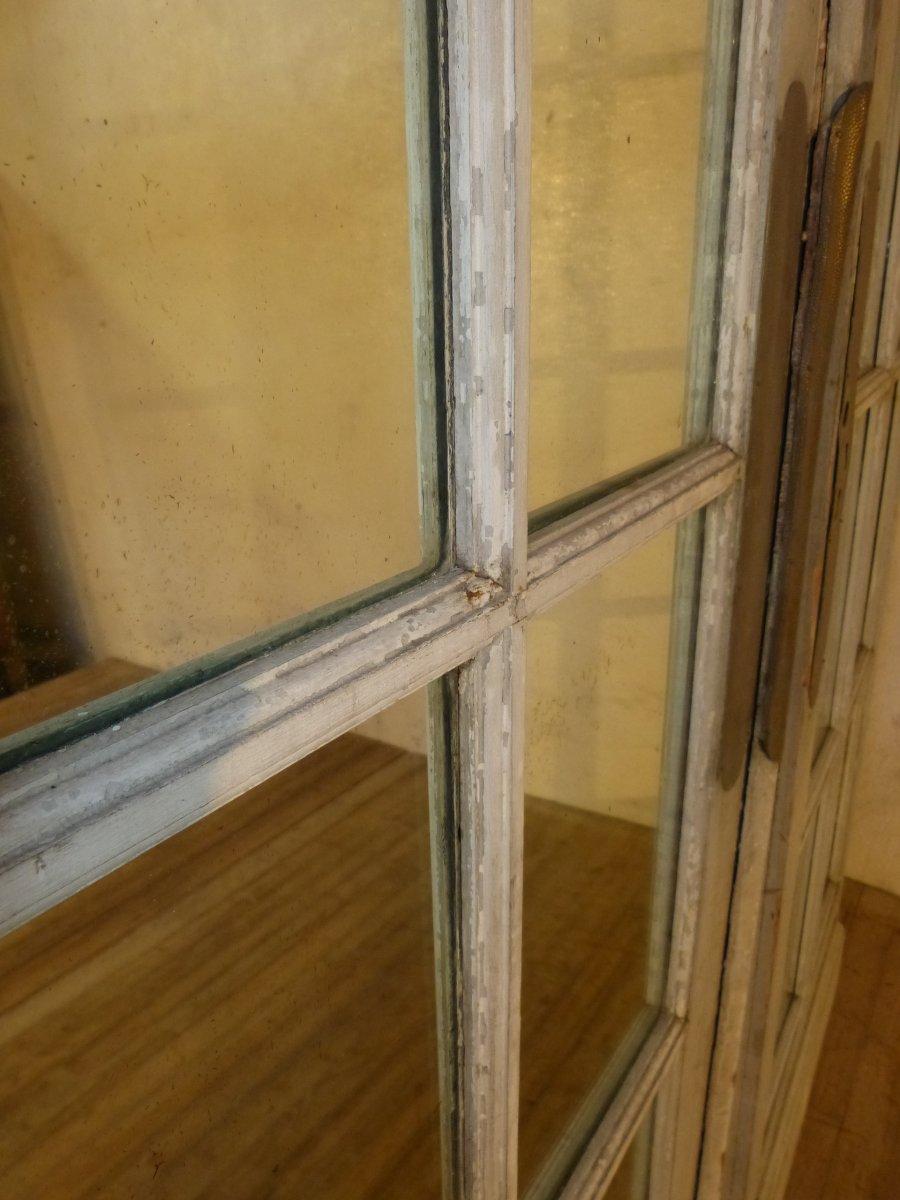 Paire De Grandes Portes à Miroirs 19ème,  244 X 75 Cm Chaque-photo-2