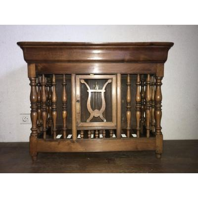 Provencal Panetière In Walnut Louis Philippe Period