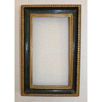 Small Antique Louis XIII Frame, 17th Time 38.2 X 25 Cm