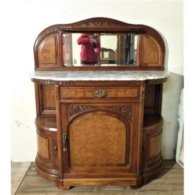 Art Nouveau Dessert Gauthier Poinsignon In Walnut