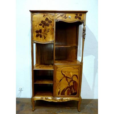 Louis Majorelle - Art Nouveau Clematis Shelf