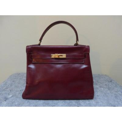 Hermès Kelly 28 Red Bag Year 1962