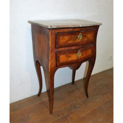 18th Century Chiffonnière Table With Two Drawers