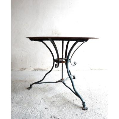 Iron Garden Table Of Arras 19th Diameter 89 Cm
