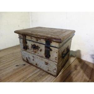 Marine Chest, Norman Or Breton Ship Owner 18th
