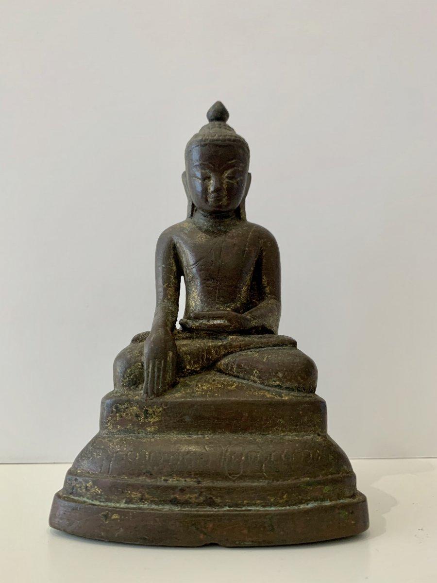 Bronze Buddha, Burma, Shan, XVIIIth Century