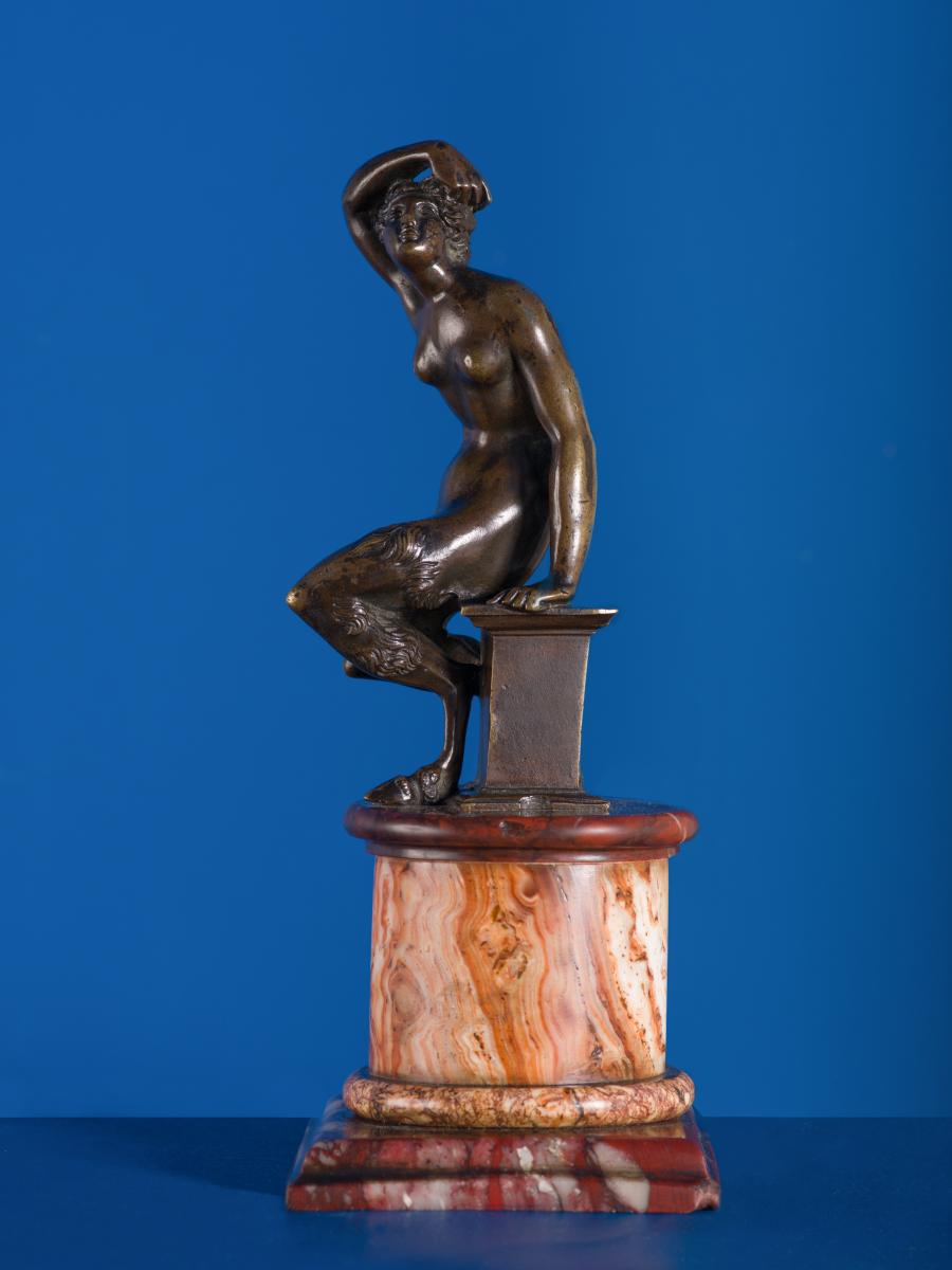 Faunesse, bronze patiné, Florence, fin XVIIe siècle