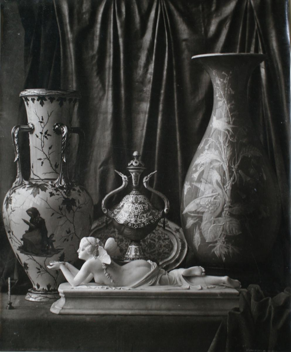 Still Life,  Louis-rémy Robert, 1855