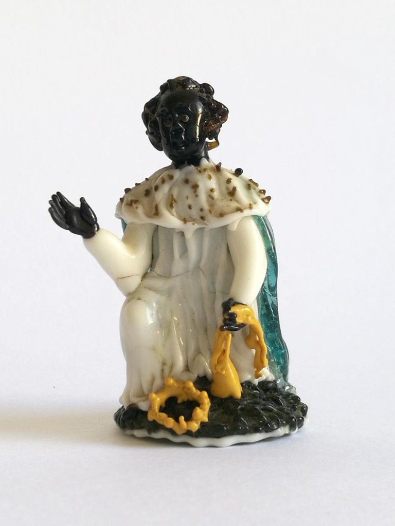 King Mage, Balthazar, Glass Spun From Nevers, 18th