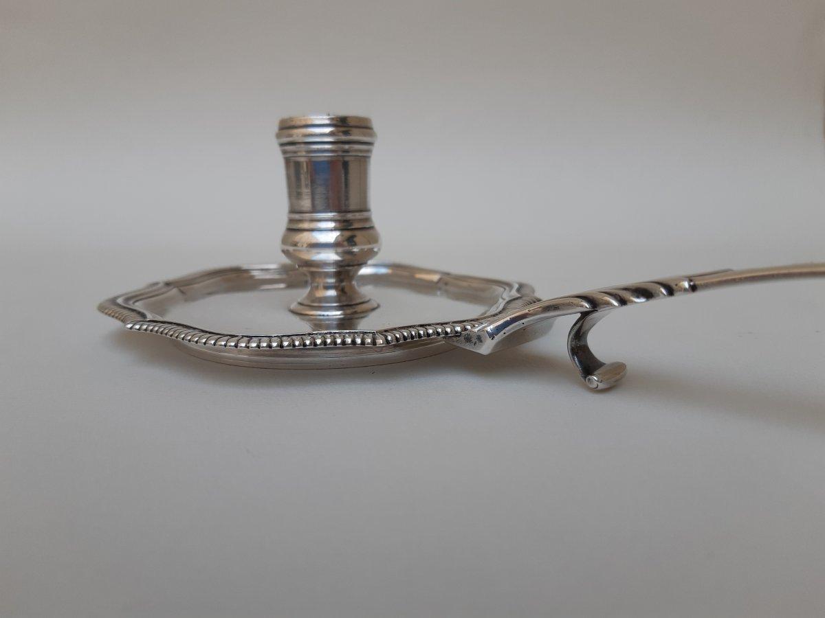 Candlestick Hand, Silver, Marseille, 1758