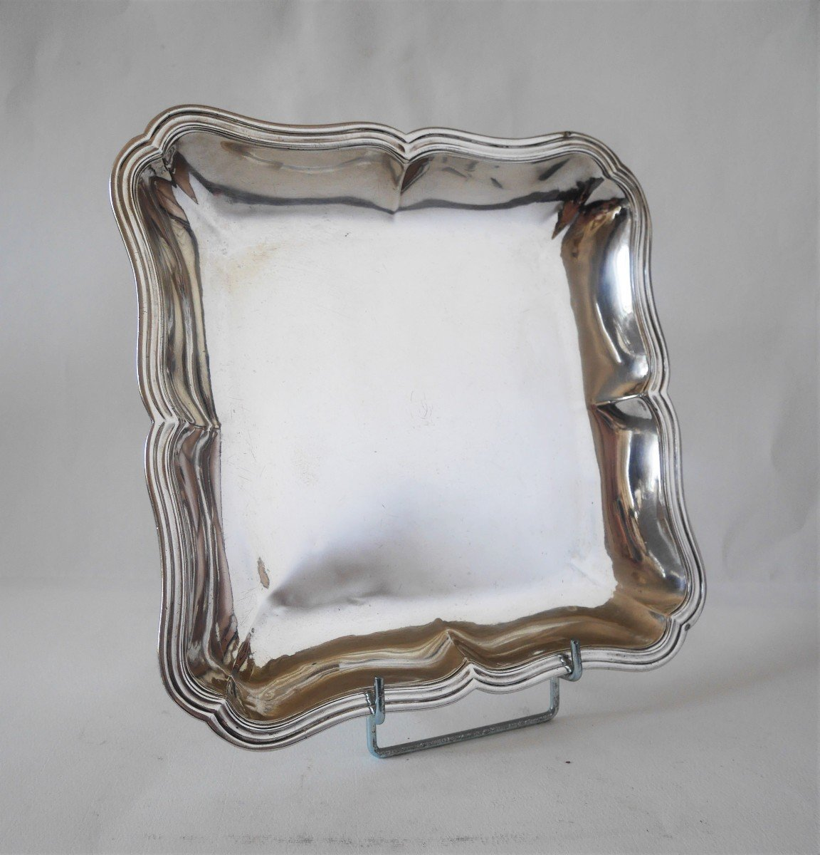 Dish, Sterling Silver By Jean-antoine Bourguet, Paris, 1760-1761-photo-2