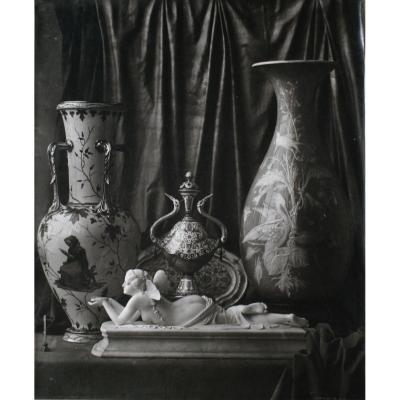 Nature Morte, photographie de Louis-Rémy Robert, 1855