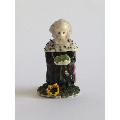 King Mage, Melchior, Glass Spun From Nevers, Early 18th