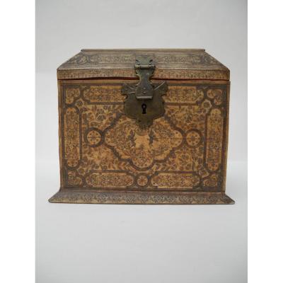 Jewelery Box Cabinet, Augsburg, Ex Coll Rothschild, Circa 1740