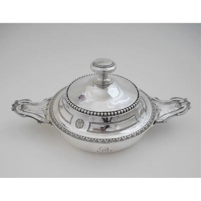 Covered Bowl, Silver, Toulouse, 1786