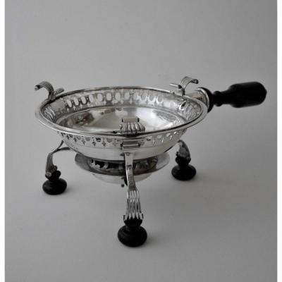 Embers Stove, Silver, By Ricourt, Lille, 1737