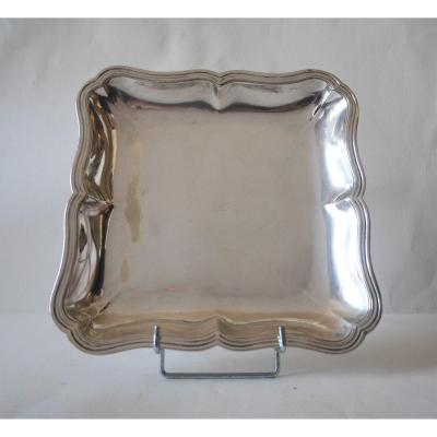 Dish, Sterling Silver By Jean-antoine Bourguet, Paris, 1760-1761