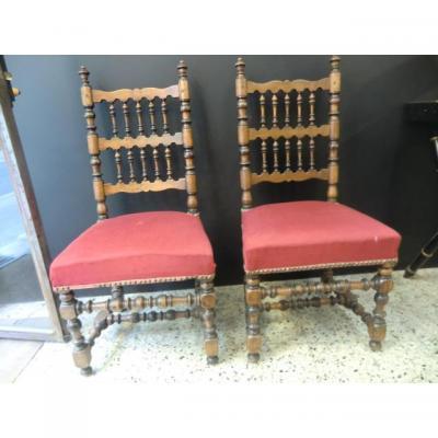 Provencal Chairs Epoque XIX