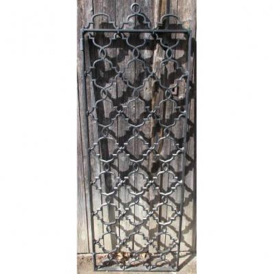 Wrought Iron Grid 1950s