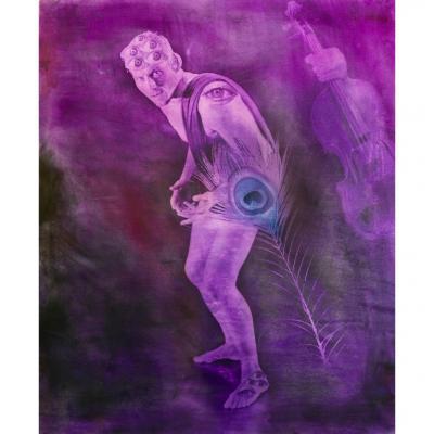 "Alfons Alt "" Argos Panoptès "", 2016 Altotype 120 x 100 cm"